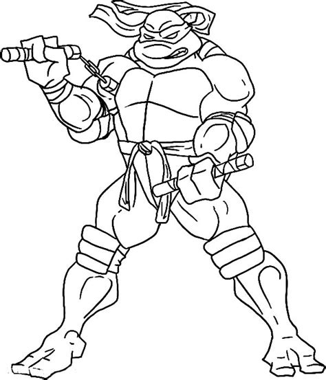 tmnt mikey head coloring coloring pages