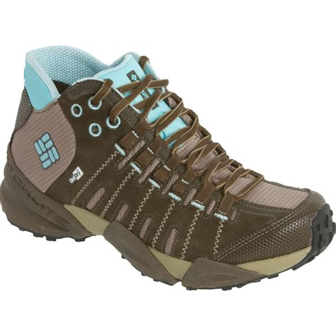 mid trail running shoes columbia master of faster mid outdry leather trail running