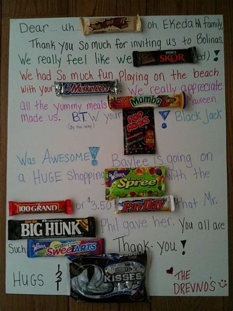 Dy Bar Thank You Card Love This Idea Invites And