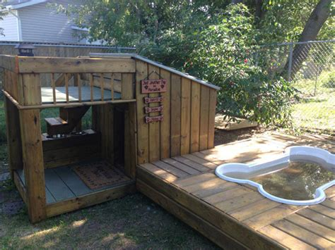 outside dog houses 20 awesome outdoor dog houses home design and interior