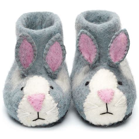 children s animal slippers eco slippers for