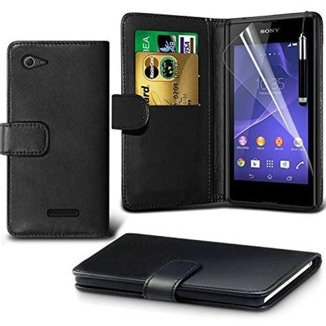 Mofi Soft Leather Flip Cover Xperia E3 best sony xperia e3 cases