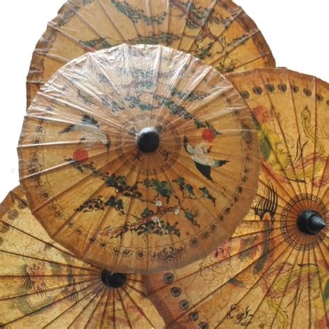 Sun Protection Vintage Paper Parasol From Asos by Thailand Handmade Paper Umbrella Ancient Classic
