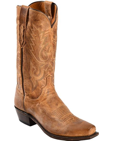 mens boots lewis lucchese s lewis wayne mandras goat western boots