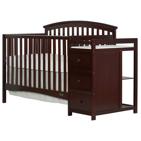 5 In 1 Baby Crib On Me Niko 5 In 1 Convertible Crib With Changer In
