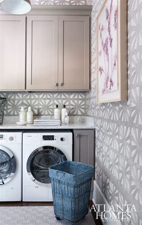 laundry room wallpaper laundry room decor wallpaper simplified bee