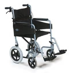 light and foldable frame attendant propelled wheelchair