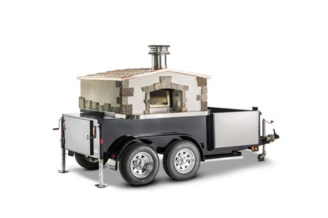 mobile pizza oven mobile pizza oven trailer photos forno bravo authentic