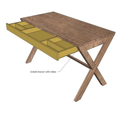 how to build a desk with drawers best 25 desk plans ideas on woodworking desk