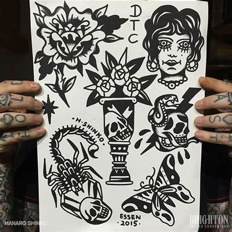 flash tattoo europe hanaro shinko brighton tattoo convention tt pinterest