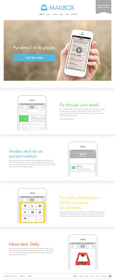 design inspiration mobile website 15 beautiful mobile app websites for design inspiration