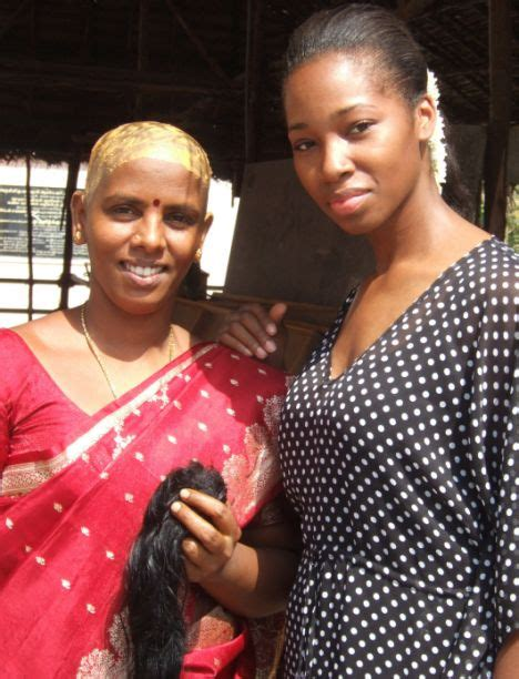 new indian women headshave the story behind human hair bellanaija