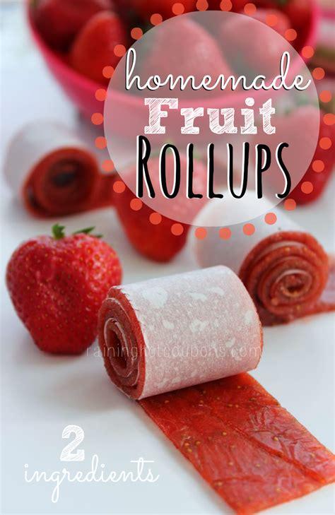 homemade fruit rollups 2 ingredients lifeofawhisk com
