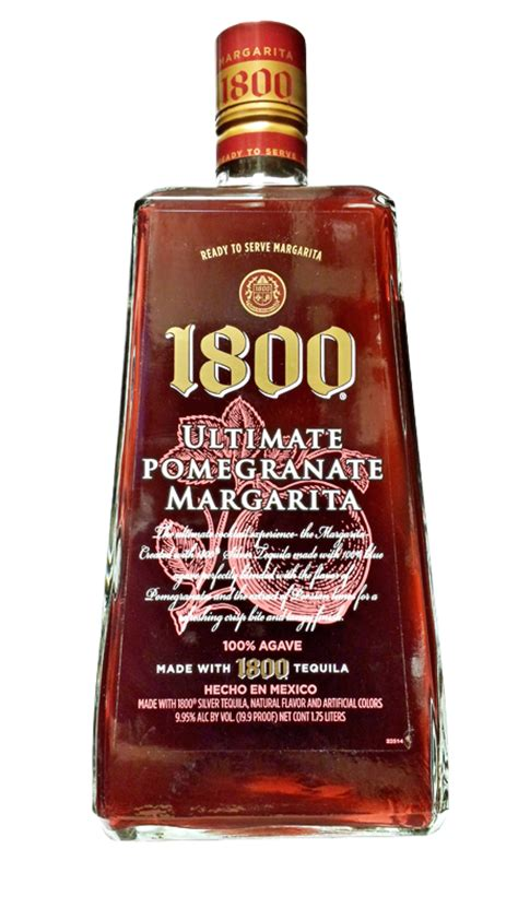 pomegranate margarita 1800 1800 margarita kingdom liquors