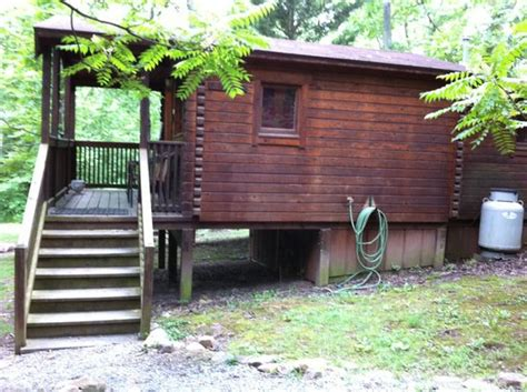 Cabins On Shenandoah River by Blue Heron View From Pathway To Cabin Picture Of