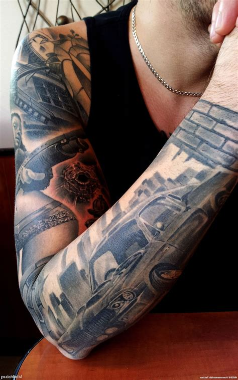 custom tattoo sleeves cool tattoos bonbaden