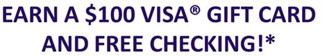 100 Visa Gift Card Directv - pa only bhcu 100 visa gift card checking promotion doctor of credit