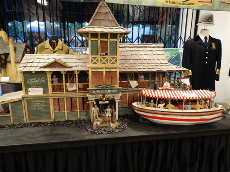 jungle cruise boat model quot collecting disneyland quot exhibit and auction gives