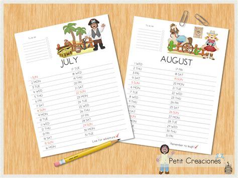 printable calendar gift petit creaciones printable calendar 2018 instant