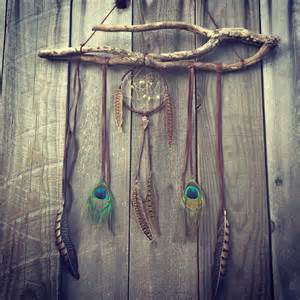dreamcatcher boho wall hanging and decor by gypsytribejewels