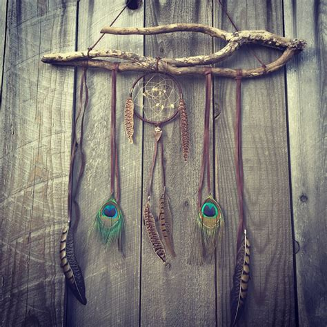 Etsy Wall Hanging - dreamcatcher boho wall hanging and decor by gypsytribejewels