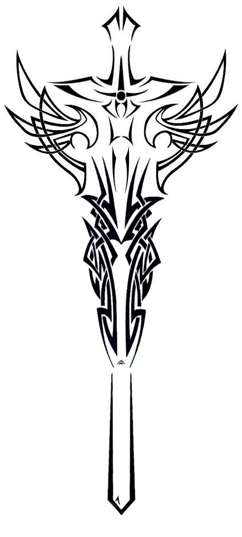 tribal sword tattoo sword tattoos design and ideas