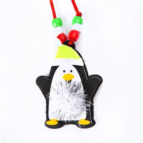 christmas pom pom necklace festive necklace kit craft