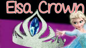 diy elsa crown abbe crafts youtube