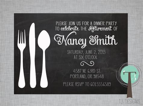 free dinner party invitation template ajordanscart com