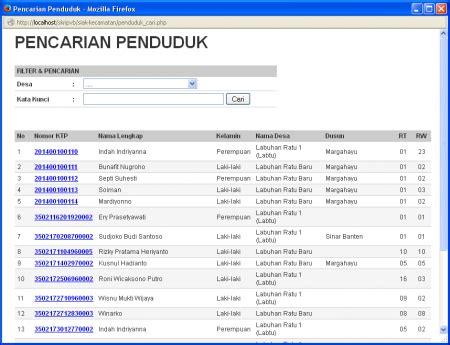 cara membuat database penduduk dengan excel sistem informasi administrasi kependudukan siak berbasis