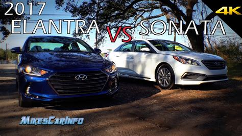 Hyundai Sonata Vs Elantra by Ultimate Comparison 2017 Hyundai Elantra Vs Sonata