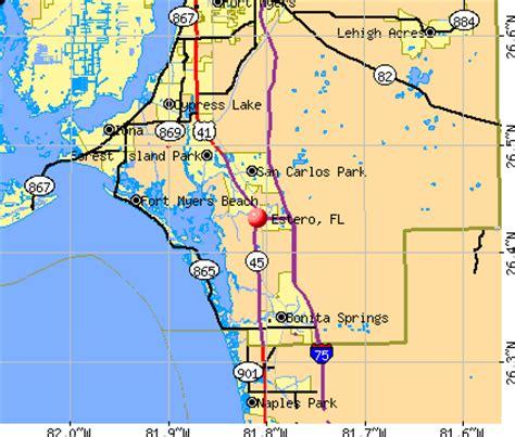 zip code map estero fl estero florida fl profile population maps real