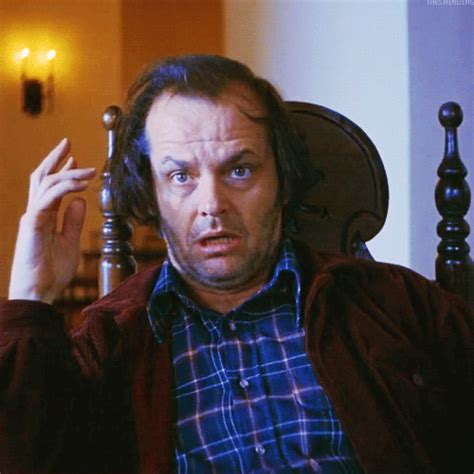 jack nicholson the shining movie jack torrance gif tumblr
