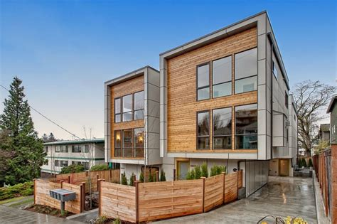 contemporary townhouse new modern townhouses in fremont urbnlivn