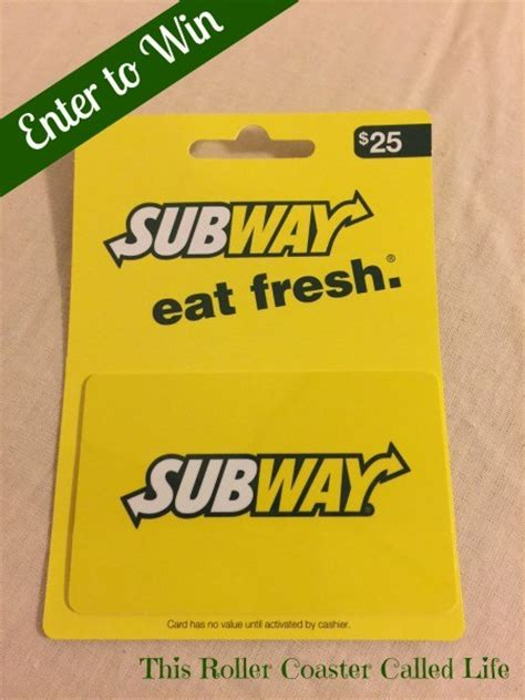 5 Subway Gift Cards - subway gift card balance related keywords keywordfree com
