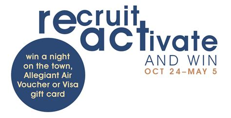 Allegiant Air Gift Cards - recruit activate keeping the network alive bismarck mandan young professionals