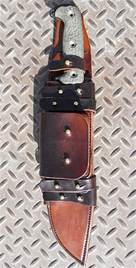 machete leather sheath custom leather knife sheaths personalized made to order