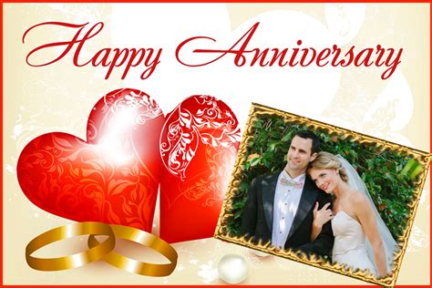 Wedding Anniversary Frames by Wedding Anniversary Photo Frames Editing