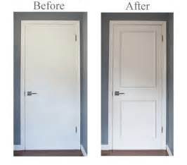 Interior Door Trim Kits Two Panel Door Moulding Kit Upgrade Flat Panel Doors Quickly Easily No Gluing Or Nailing