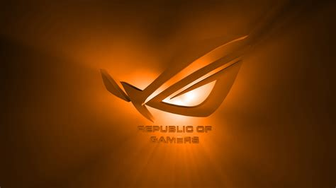Asus Wallpaper Orange | rog wallpaper collection 2013
