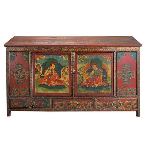 indische kommode indische kommode aus holz b 120 cm bunt lhasa lhasa