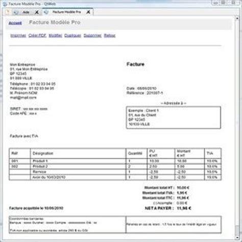 Logiciel Modele Facture Excel Gratuit