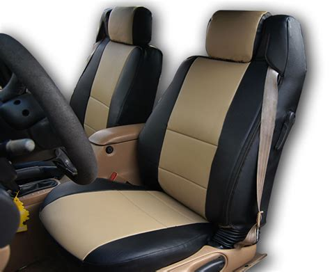 Upholstery Cover by Chrysler Sebring Convertible Black Beige Iggee S Leather