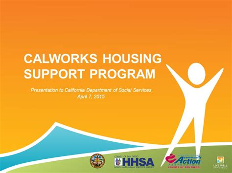 service programs california calworks housing support program ppt
