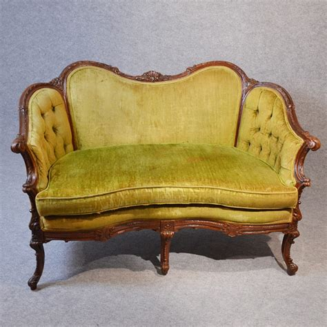 sofa couch or settee french love seat sofa 2 two seat duet couch settee