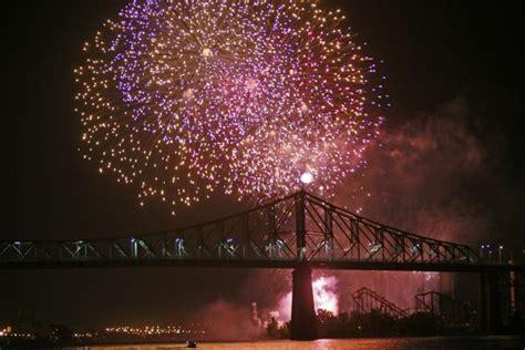 Led Feux D Ambulance feux d artifice le pont jacques cartier ferm 233 ce soir mich 232 le sioui montr 233 al