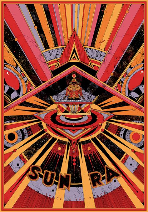 A Place In The Universe Sun Ra Sun Ra Space Is The Place Poster By Kilian Eng Dj Food