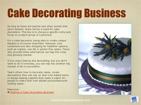 starting a cake decorating business from home how to start a cake decorating business from home in