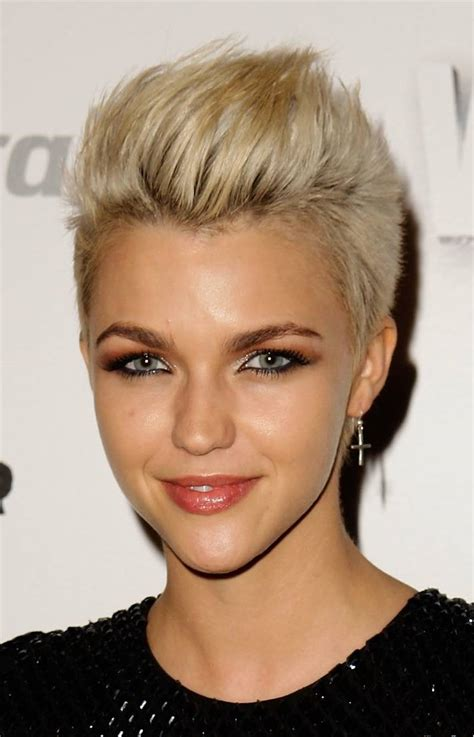 ruby rose hairstyles lady nape ruby rose short hair