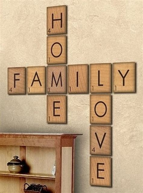 scrabble word que how to make large scrabble tiles diy cozy home